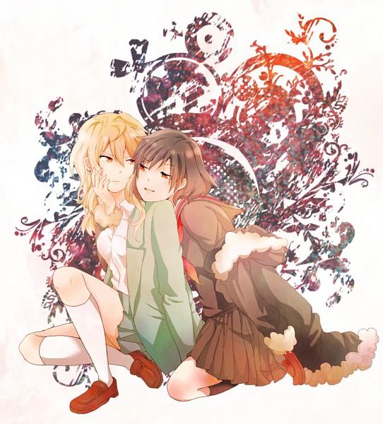 Tags: Anime, Pixiv Id 2046340, DURARARA!!, Orihara Izaya, Kanra, Heiwajima Shizuo, Pixiv, Fanart