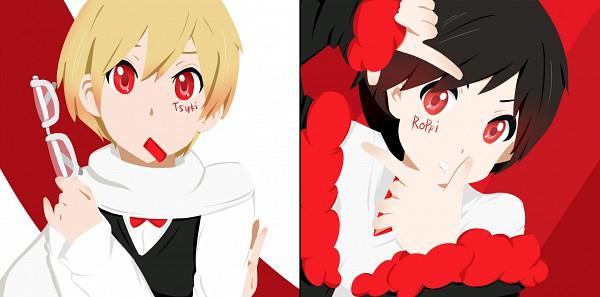 Tags: Anime, DURARARA!!, Heiwajima Shizuo, Orihara Izaya, Facebook Cover, Hachimenroppi Izaya, Tsukishima Shizuo, deviantART, K-ON! Character Design