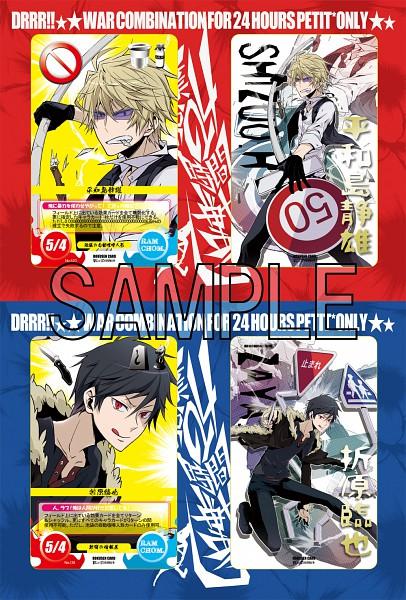 Tags: Anime, Chonnbo, DURARARA!!, Heiwajima Shizuo, Orihara Izaya, Pixiv