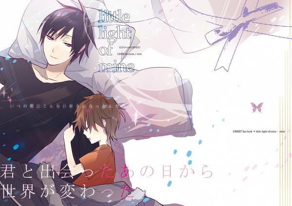 Tags: Anime, Hino (Pixiv1258579), DURARARA!!, Orihara Izaya, Heiwajima Shizuo, Pixiv
