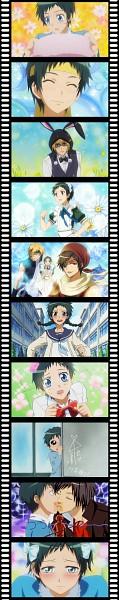 Tags: Anime, Pixiv Id 1328214, DURARARA!!, Kaichou wa Maid-sama!, Ryuugamine Mikado, Heiwajima Shizuo, Orihara Izaya, Kaichou wa Maid-sama! (Parody)
