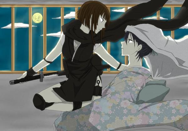 Tags: Anime, Takayan, DURARARA!!, Heiwajima Kasuka, Hijiribe Ruri, Pixiv, Fanart
