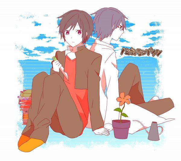 Tags: Anime, Kurobara, DURARARA!!, Kishitani Shinra, Orihara Izaya, DECO*27, PNG Conversion, Yowamushi Montblanc