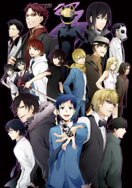 Tags: Anime, Sumeragi Sora, DURARARA!!, 3way Standoff, Orihara Izaya, Ryuugamine Mikado, Heiwajima Shizuo, Vorona, Orihara Kururi, Miyoshi Yoshimune, Kishitani Shinra, Kishitani Shingen, Heiwajima Kasuka