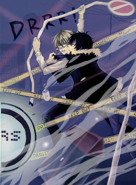 Tags: Anime, Haitori, DURARARA!!, Orihara Izaya, Heiwajima Shizuo