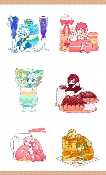 Tags: Anime, Super15rrr, DURARARA!!, Hibiya, Psyche, Delic, Heiwajima Shizuo, Tsugaru, Orihara Izaya, Parfait, Cocktail, Crêpe, Tsukishima Shizuo