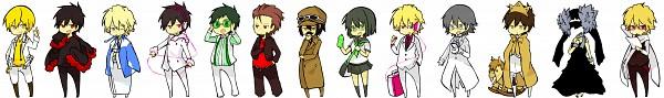Tags: Anime, Pixiv Id 413831, DURARARA!!, Sturluson Celty, Delic, Kishitani Shinra, Ryuugamine Mikado, Tsugaru, Sonohara Anri, Heiwajima Kasuka, Kida Masaomi, Kadota Kyouhei, Orihara Izaya