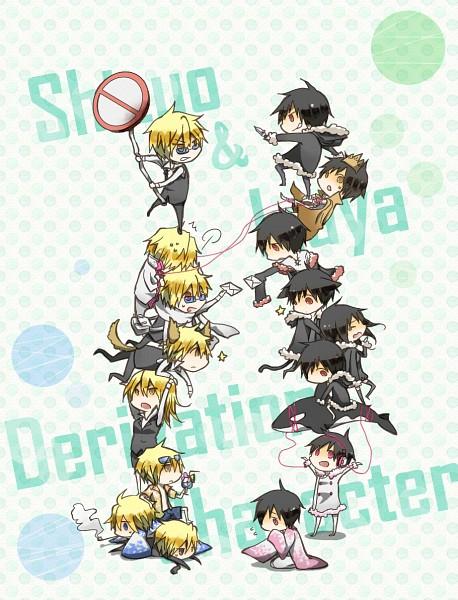 Tags: Anime, Pixiv Id 2245269, DURARARA!!, Delic, Tsugaru, Psyche, Heiwajima Shizuo, Kanra, Hibiya, Orihara Izaya, Subarashii Hibi, Hachimenroppi Izaya, Tsugaru Kaikyo Fuyu Geshiki