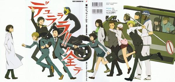 Tags: Anime, Brains Base (Studio), DURARARA!!, Kishitani Shinra, Yagiri Seiji, Togusa Saburou, Sonohara Anri, Sturluson Celty, Karisawa Erika, Kida Masaomi, Yumasaki Walker, Kadota Kyouhei, Harima Mika