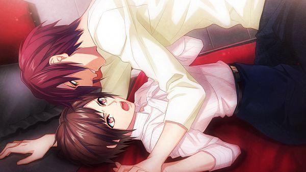 Tags: Anime, Fujiwara Ryo, honeybee, DYNAMIC CHORD, Kirishita Konoha, Kisaka Yorito, Wallpaper, CG Art