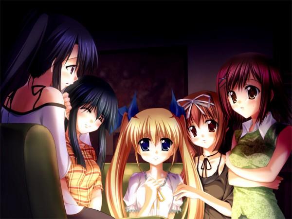 Tags: Anime, Da Capo, Yoshino Sakura, Shirakawa Kotori, Konomiya Tamaki, Sagisawa Misaki, Mizukoshi Moe, CG Art
