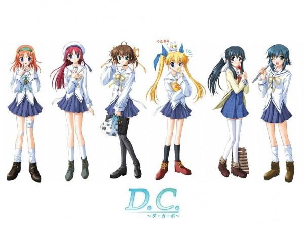 Tags: Anime, Da Capo, Utamaru (Da Capo), Amakase Miharu, Mizukoshi Moe, Asakura Nemu, Mizukoshi Mako, Yoshino Sakura, Shirakawa Kotori, Official Art