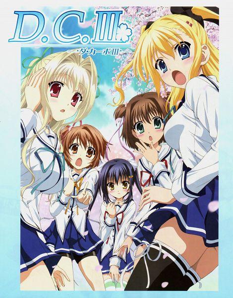 Tags: Anime, CIRCUS (Studio), Kazami Gakuen Koushiki Douga-bu, Da Capo III, Hinomoto Aoi, Katsuragi Himeno, Yoshino Charles, Morizono Ricca, Rukawa Sara, Official Art, Scan