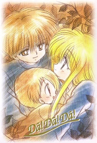 Tags: Anime, Kawamura Mika, Daa! Daa! Daa!, Kouzuki Miyu, Saionji Kanata, Ruu (Daa! Daa! Daa!), Official Art