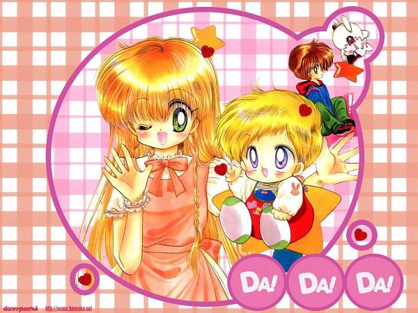Tags: Anime, Kawamura Mika, Daa! Daa! Daa!, Saionji Kanata, Ruu (Daa! Daa! Daa!), Wannya, Kouzuki Miyu, Official Art