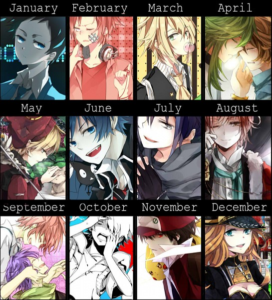 Tags: Anime, Daenarys, Riingo, No.6, Ao no Exorcist, Kagerou Project, Pokémon, VOCALOID, Law of X, Touya (Pokémon), Niffelheim Slade, Ryuugamine Mikado, Red (Pokémon)