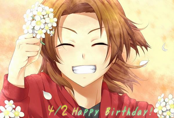 Tags: Anime, Tomato-ed, Digimon Savers, Daimon Masaru, Texto: Happy Birthday
