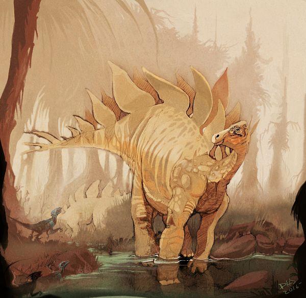 Tags: Anime, Damarcus Holbrook, Reptile, Dinosaur, Stegosaurus