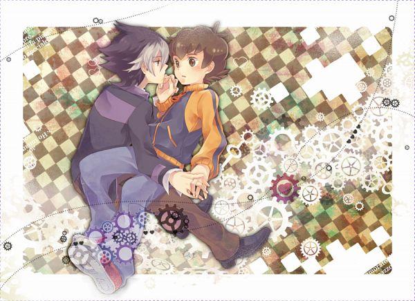 Tags: Anime, Azurebloom, Level-5, Danball Senki, Yamano Ban, Kaidou Jin, Fanart From Pixiv, Pixiv, Fanart