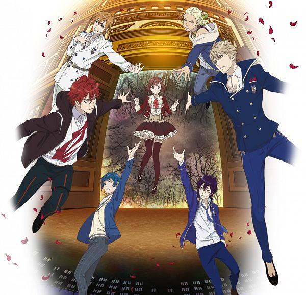 Tags: Anime, Takashina Yuka, Rejet, Dance with Devils, Tachibana Lind, Roen, Kaginuki Rem, Natsumezaka Shiki, Tachibana Ritsuka, Nanashiro Mage, Sogami Urie, PNG Conversion, Official Art