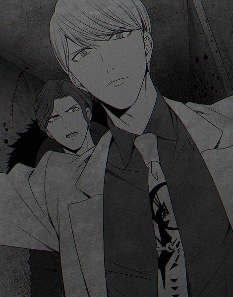 Tags: Anime, Pasta69, Danganronpa 3: The End of Kibougamine Gakuen - Mirai-hen, Sakakura Juuzou, Munakata Kyousuke, Fanart