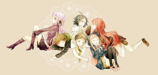 Tags: Anime, Pixiv Id 3195799, Danganronpa/Zero, Super Danganronpa 2, Danganronpa, Otonashi Ryouko, Naegi Makoto, Hinata Hajime, Kirigiri Kyouko, Matsuda Yasuke, Nanami Chiaki, Pixiv, Fanart