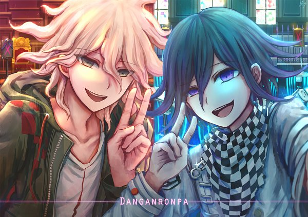 Tags: Anime, Pixiv Id 5907163, New Danganronpa V3, Super Danganronpa 2, Danganronpa, Ouma Kokichi, Komaeda Nagito