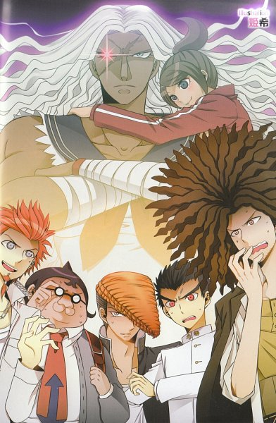Tags: Anime, Danganronpa, Hagakure Yasuhiro, Yamada Hifumi, Kuwata Leon, Oogami Sakura, Oowada Mondo, Ishimaru Kiyotaka, Asahina Aoi