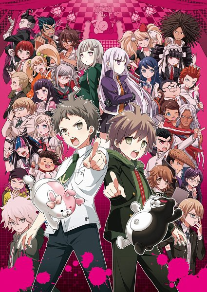 Tags: Anime, Kami8, Super Danganronpa 2, Danganronpa, Hanamura Teruteru, Naegi Makoto, Tanaka Gundam, Fukawa Touko, Togami Byakuya (Super Danganronpa 2), Yamada Hifumi, Nanami Chiaki, Sonia Nevermind, Fujisaki Chihiro