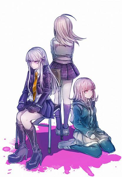 Tags: Anime, Isuckatthisdonti, Super Danganronpa 2, New Danganronpa V3, Danganronpa, Nanami Chiaki, Kirigiri Kyouko, Akamatsu Kaede