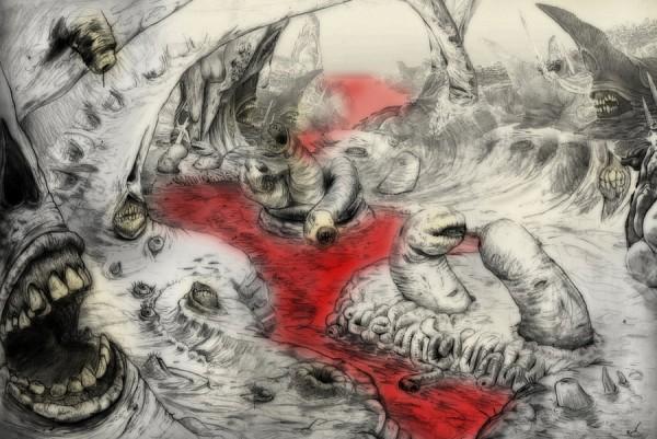 Tags: Anime, Dante's Inferno, Worms