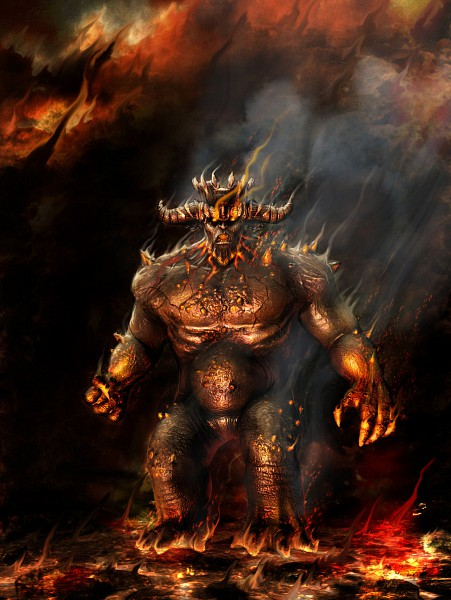 Tags: Anime, Dante's Inferno, Lava