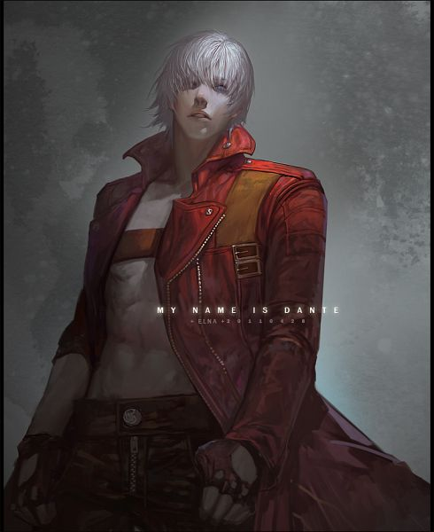 Tags: Anime, Elna, Devil May Cry 3, Devil May Cry, Dante, Pixiv, Fanart From Pixiv, Fanart, PNG Conversion
