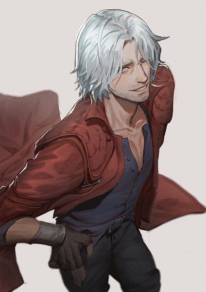 Tags: Anime, Pixiv Id 1637970, Devil May Cry, Dante, Fanart, Lofter