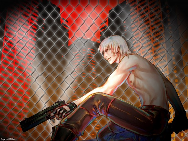 Tags: Anime, Devil May Cry, Dante, Wallpaper