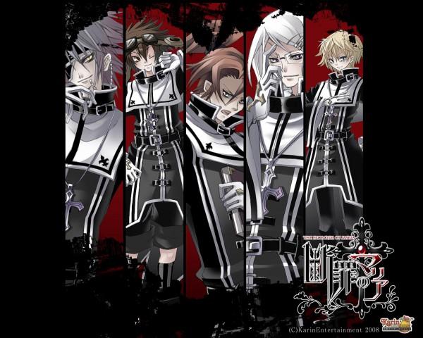 Tags: Anime, Danzai no Maria, Kirito (Danzai no Maria), Kraus (Danzai no Maria), Mikagami (Danzai no Maria), Hiyori (Danzai no Maria), Munakata (Danzai no Maria), Wallpaper, The Exorcism Of Maria