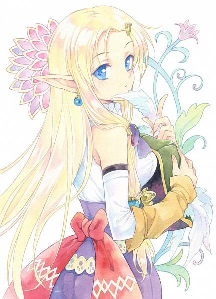 Tags: Anime, Agahari, Rune Factory 3, Daria (Rune Factory 3), Traditional Media, Mobile Wallpaper, Fanart