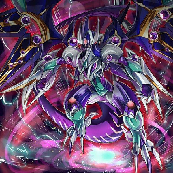Dark Anthelion Dragon - Dark Rebellion Xyz Dragon