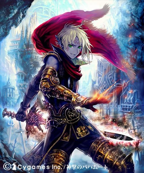 Dark Elven Soldier - Shingeki no Bahamut