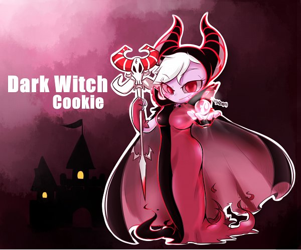 Tags: Anime, Pixiv Id 19786834, Cookie Run: OvenBreak, Cookie Run, Dark Enchantress Cookie, Pixiv, Fanart, Fanart From Pixiv