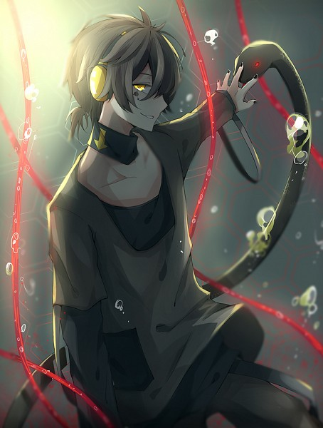 Tags: Anime, Pixiv Id 2200368, Kagerou Project, Dark Konoha, Kokonose