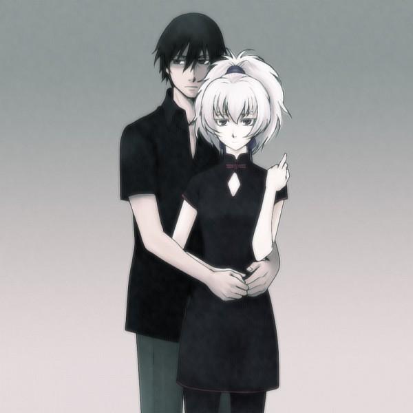 Tags: Anime, Darker than Black, Yin, Hei, Pixiv