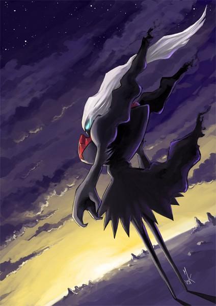 Tags: Anime, Pokémon, Darkrai, Legendary Pokémon, Artist Request, Mobile Wallpaper, Fanart
