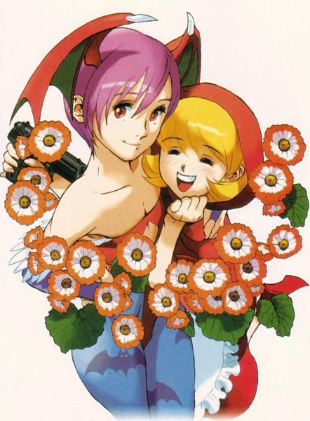 Tags: Anime, Darkstalkers, Lilith Aensland, Baby Bonnie Hood