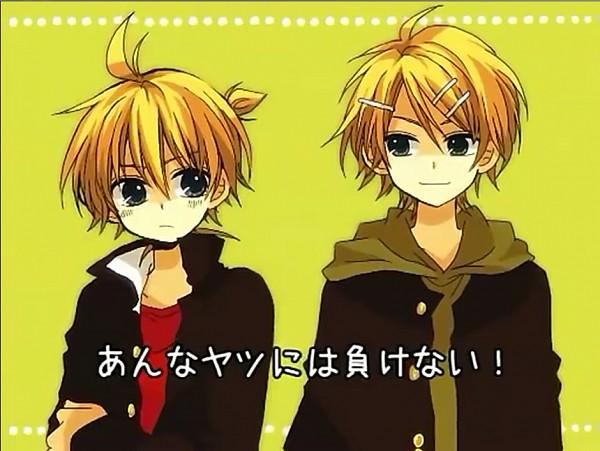 Tags: Anime, An (Pixiv1170947), VOCALOID, Kagamine Rinto, Kagamine Len, Pixiv, Darling☆, Screenshot