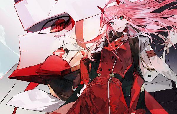 Tags: Anime, HopereiV, Darling in the FranXX, Strelizia, Zero Two (Darling in the FranXX), Twitter, Fanart