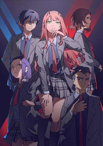 Tags: Anime, Pixiv Id 16406795, Darling in the FranXX, Zero Two (Darling in the FranXX), Fan Character