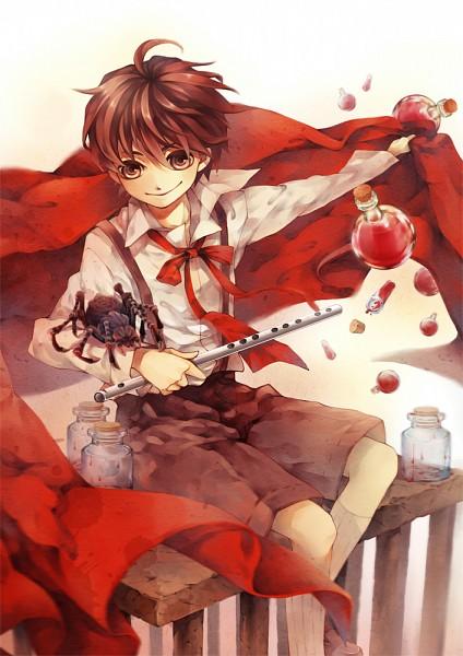 Tags: Anime, Ricemii, Cirque du Freak (Book), Madame Octa, Darren Shan (Character), Spider, Mobile Wallpaper