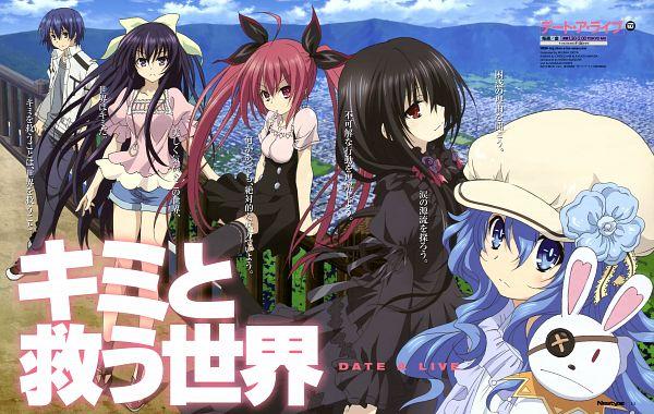 Tags: Anime, Okita Miyana, AIC PLUS+, Date A Live, Tokisaki Kurumi, Itsuka Shidou, Yatogami Tohka, Itsuka Kotori, Yoshino (Date A Live), Harem, Official Art, Scan