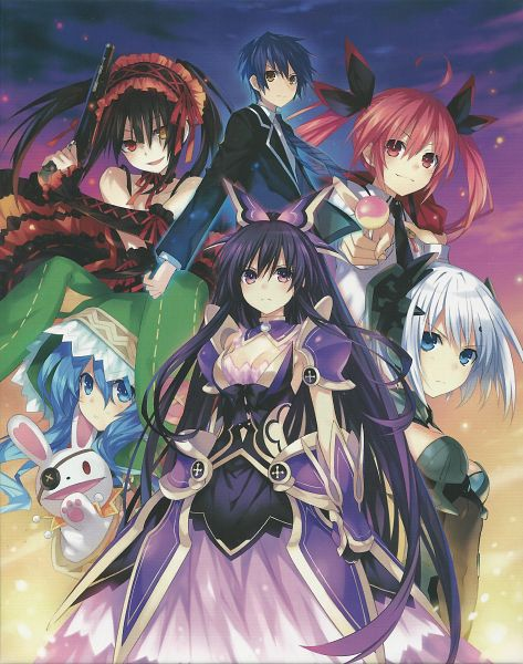 Date A Live Visual Collection - Date A Live
